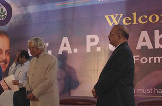 Dr.APJ Abdul Kalam visited Samilabs