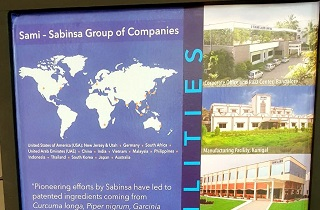 Sabinsa showcases its innovative products and solutions at the CPhI South East Asia 2018 from March  27 - 28 March 2018, JIEXPO, Jakarta, Indonesia